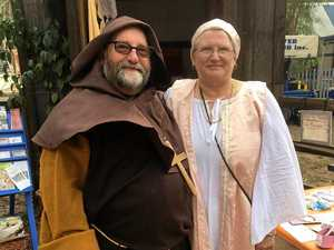 Tiaro family goes medieval for weekend festival