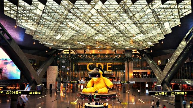Qatar's Hamad International Airport cost $17bn to build.