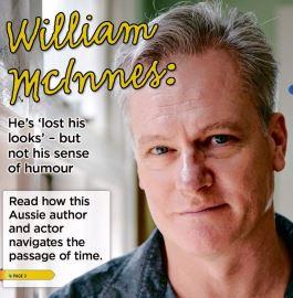 Seniors News cover featuring William McInnes.