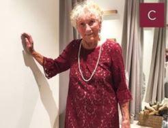 Sylvia has chosen dress C for her wedding.