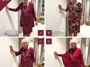 Aussie 93-year-old bride chooses wedding dress