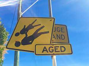 Pesky schoolkids ripping down street signs