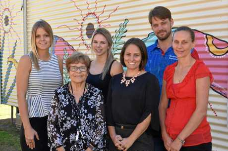 Some of the staff at Woorabinda State School.