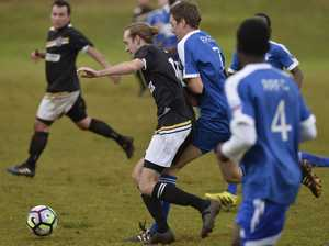 West Wanderers clash with Rockville