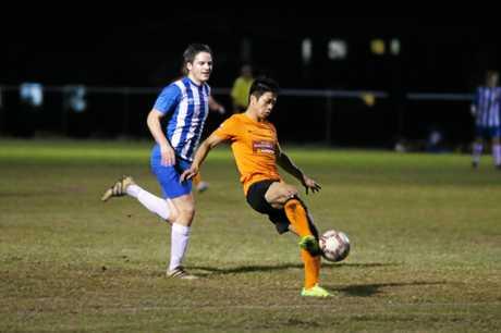 Soccer, Cap Coast's Mekwan Chatmonkon.