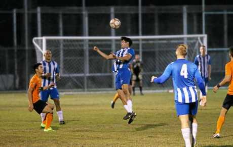 Soccer, Bluebirds' Jordan Polkinghorne.