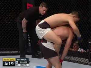 UFC Fight Night 110: Aussie Ben Nguyen stuns with victory