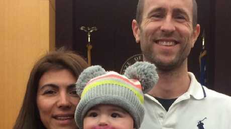 Isabella Hellmann who disappeared during her honeymoon in the Bahamas, her husband Lewis Bennett and their young daughter Emelia.