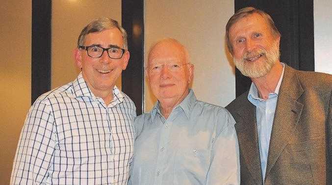 OLD GUARD: Gary Hopkins, Paul Clark and Heinz Seeberg were all Buderim Foundation Chairs.
