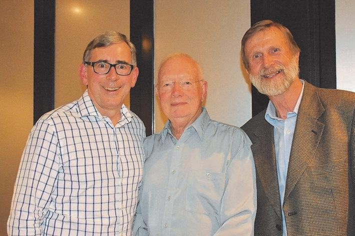 OLD GUARD: Gary Hopkins, Paul Clark and Heinz Seeberg were all Buderim Foundation Chairs.