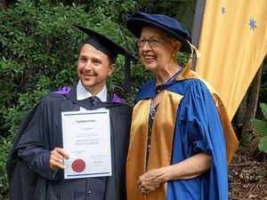 OAM honour: Jenny Dowell receives medal