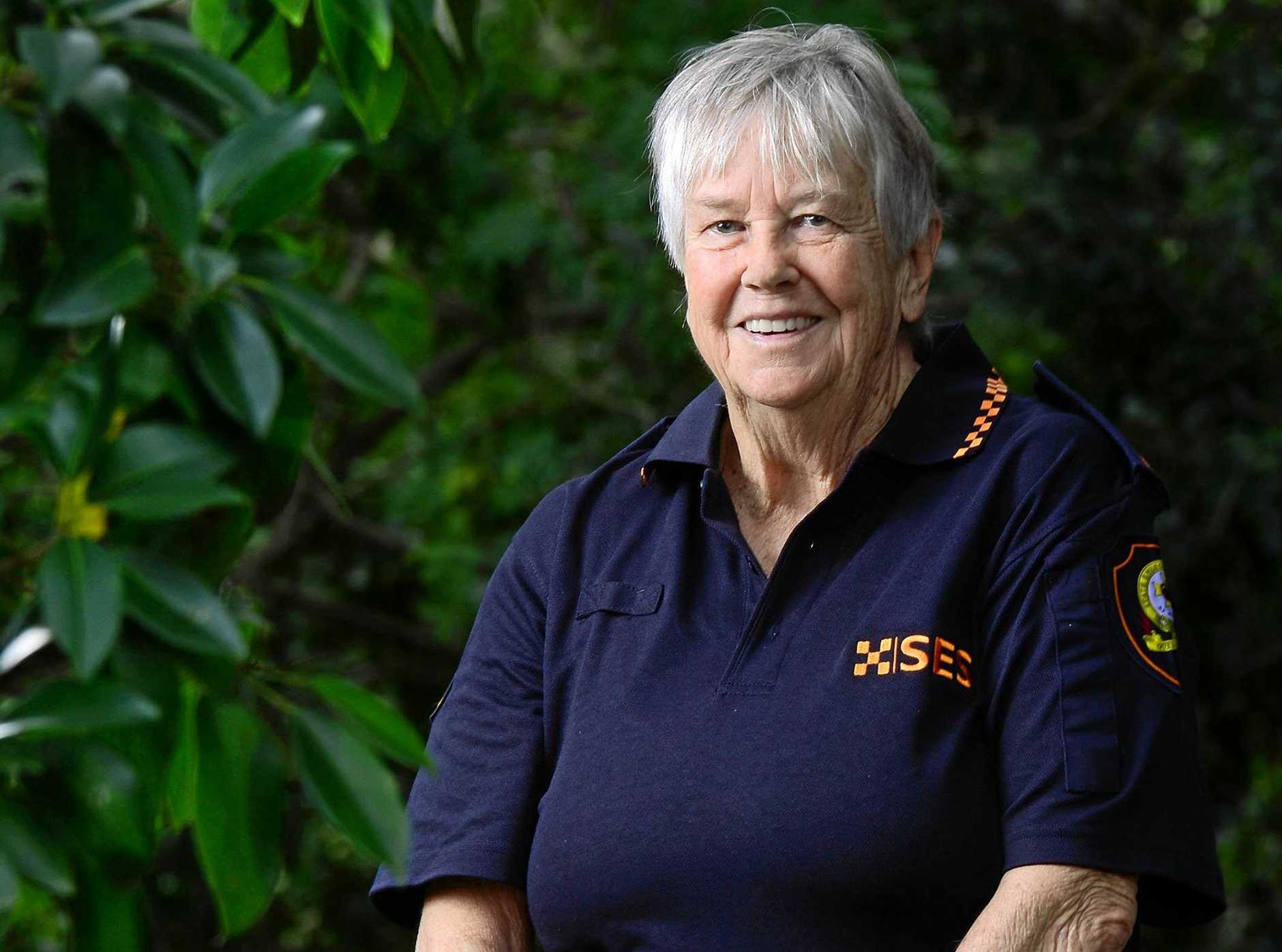 AWARD TTLE: Beth Suhrs 33 year commitment to the SES has been recognised through the Australian Honours system.