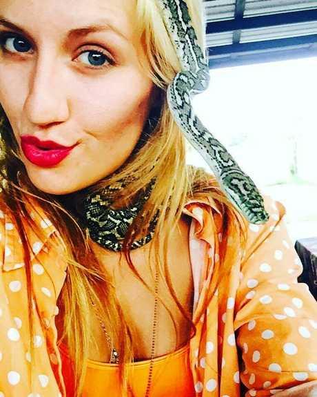 MISSING: Lulu Carrette's beloved pet python 'Bubbles' is missing.