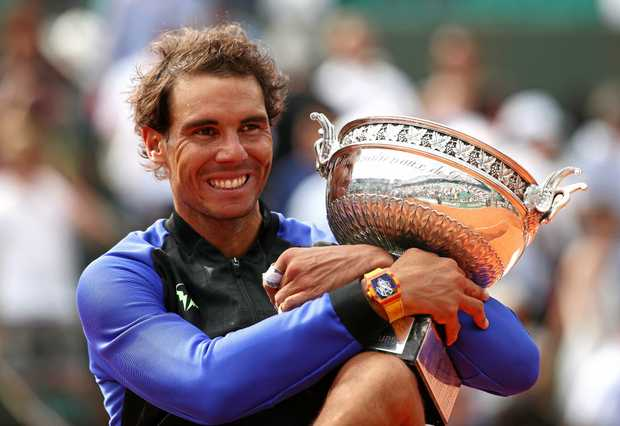 A look at all 10 of Rafael Nadal's French Open finals