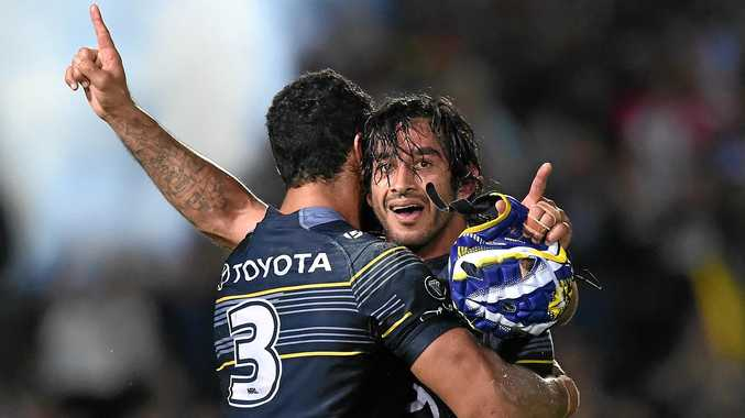 Cowboys' co-captain Jonathan Thurston is set for a Maroons recall.