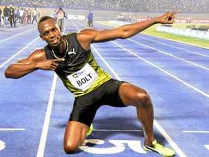 Emotional Bolt wins final 100m race on home soil