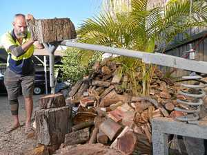 Coast man's backyard invention cuts out the axe