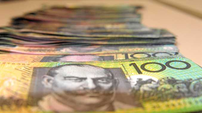 A Reserve Bank of Australia spokesperson told the QT in reality, a bundle of $100 notes worth $50,000 isn't as big as some might think.