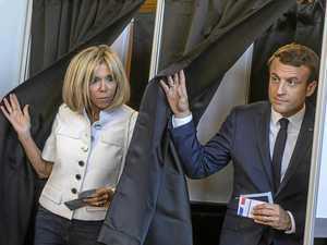 Landslide likely for Macron