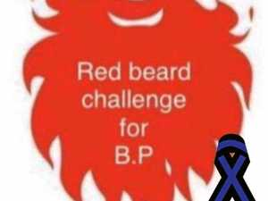 Red Beard Challenge supports badly injured police officer