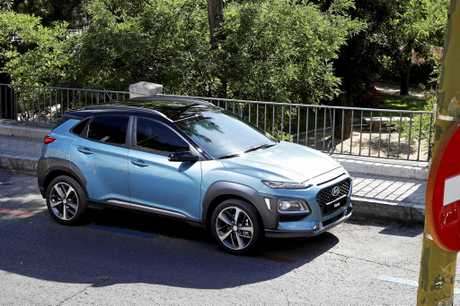 The Hyundai Kona small SUV.