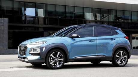 The Hyundai Kona small SUV.