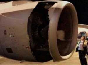 Rolls Royce under fire after hole in plane engine