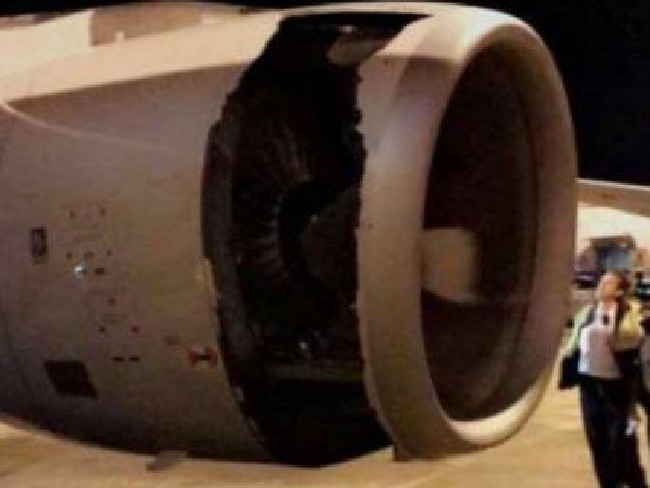 China Eastern Airlines flight MU736 suffered serious engine failure after takeoff from Sydney.