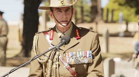 The Chief of the Army, Lieutenant General Angus Campbell, AO.