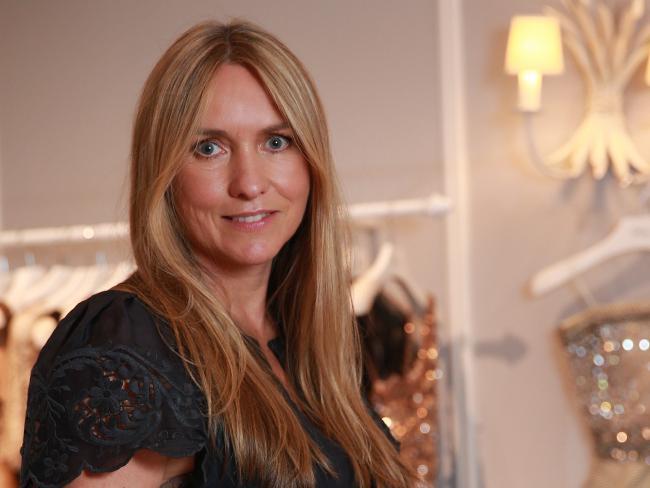 Fashion designer Collette Dinnigan, AO..