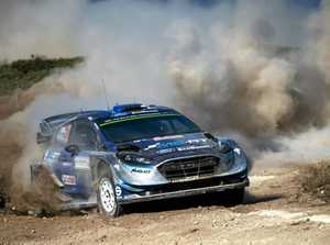 Ott Tänak survived dusty, rough conditions to win Rally Italia Sardegna.