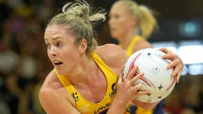 Sunshine Coast Lightning centre Laura Scherian has seized her second chance with both hands. Photo: News Corp Australia
