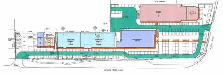 A shopping centre complex and service station is proposed for 337-341 Yaamba Rd, North Rockhampton.
