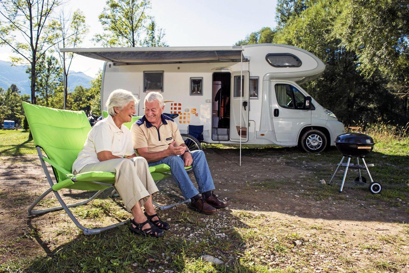 Self-contained camping has become huge world-wide.