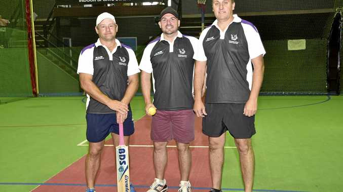 GOOD RESULTS: Toowoomba Dragons team members (from left) Lyle Teske, Troy Gurski and Alan Wilson.
