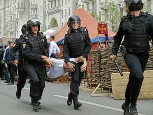 Kremlin critic jailed over protests