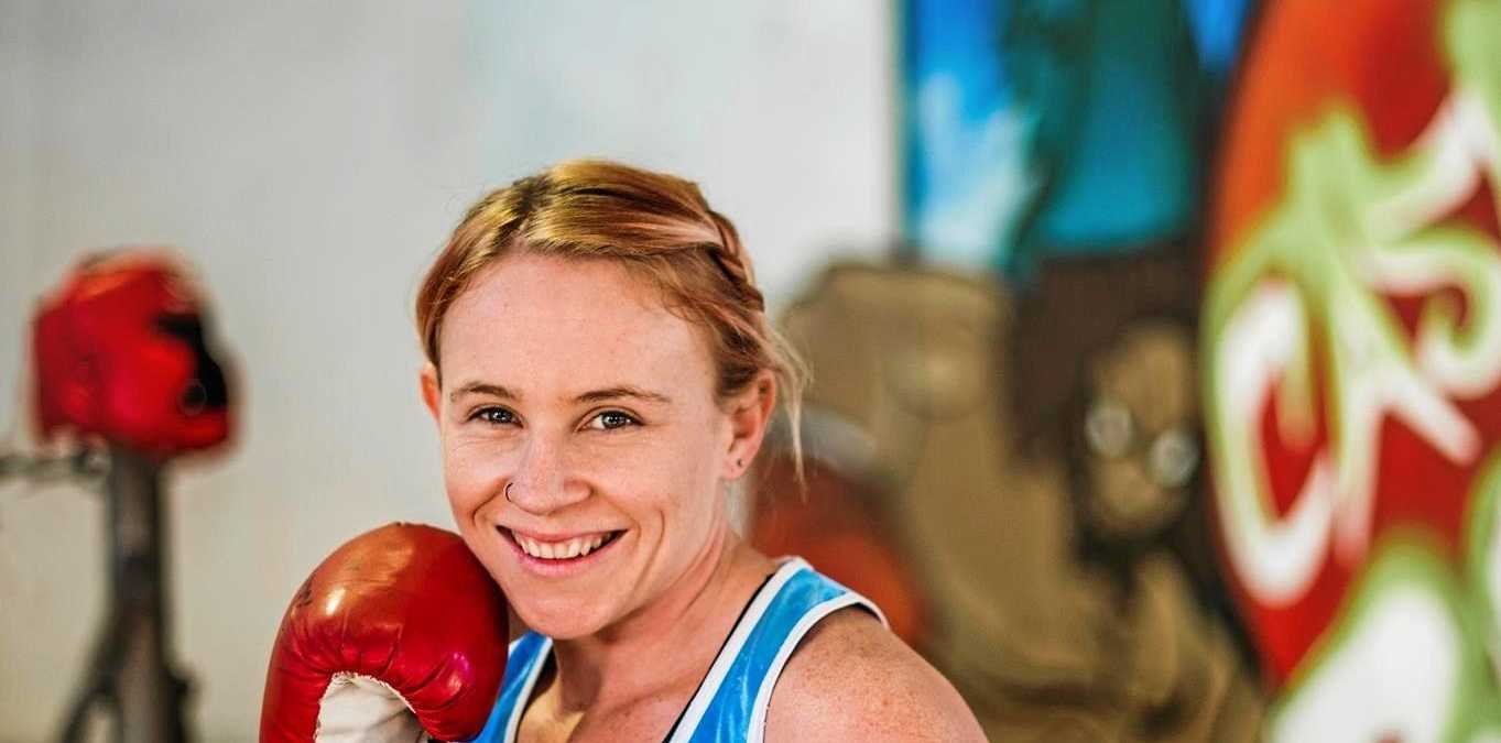 CHASING DREAM: Casino boxer Karlee Mc Pherson has her sights set on the Commonwealth Games next year.