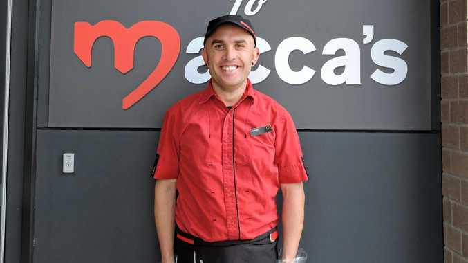 LOVIN' IT: Aaron Graves has secured employment at McDonald's in Maryborough with the help of Mylestones Employment.