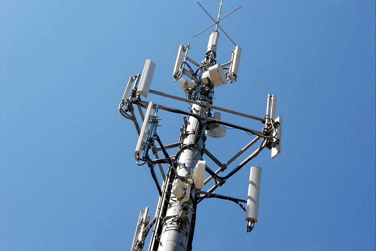Optus phone tower.