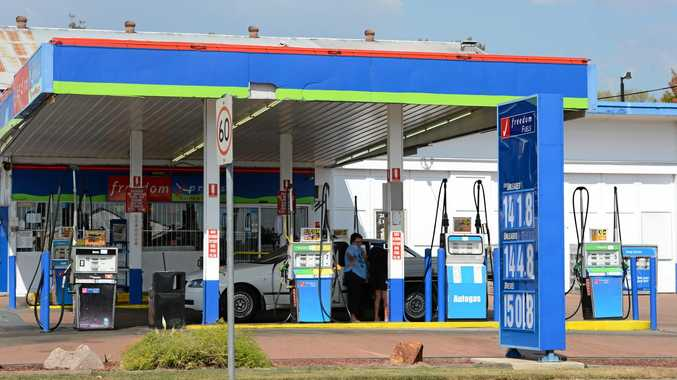 TOUGH CALL: Freedom Fuels West Ipswich has closed.