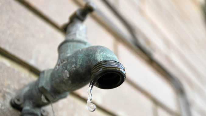 Water usage has been restricted in Mackay after a water main burst.