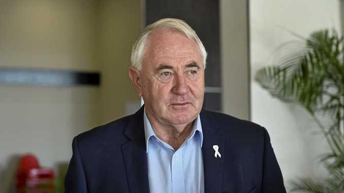 Toowoomba Mayor Cr Paul Antonio.