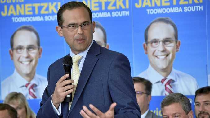 Toowoomba South MP David Janetzki.
