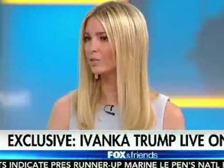 "Ivanka Trump says she was ""blindsided"" by"