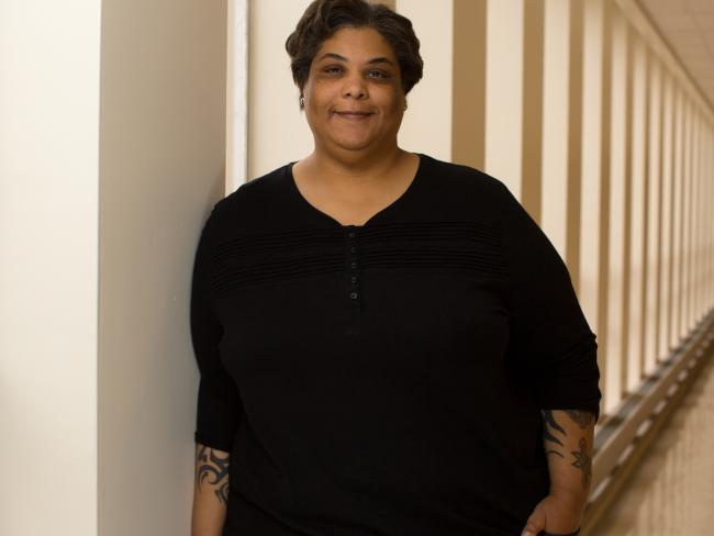 Best-selling American author Roxane Gay.