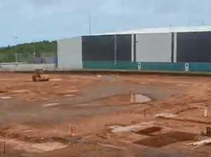 TIMELAPSE: Linfox Darwin Intermodal Facility
