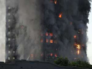 12 dead in London tower fire
