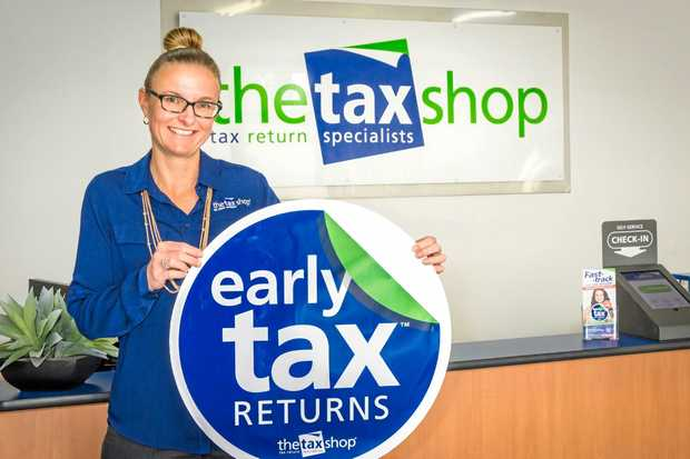 FASTER: Melanie McAuliffe from The Tax Shop is keen to fast-track your tax return.