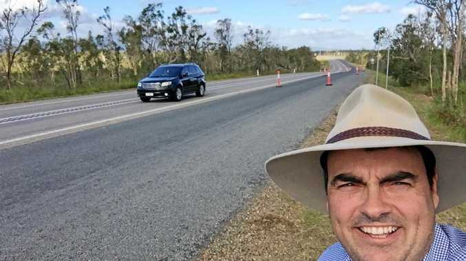 Member for Whitsunday along the Bruce Hwy where is crosses the Goorganga Plains which didn't receive any money for an upgrade in the State Budget.