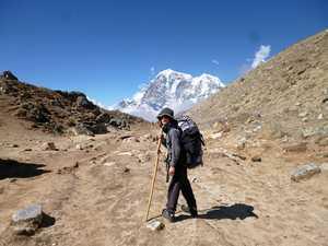 9 yo Byron boy treks to Everest Base Camp